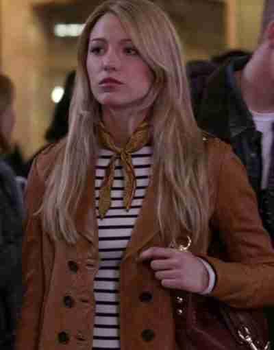 Gossip Girl 2021 Blake Lively Leather Jacket