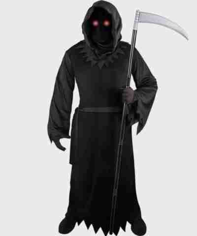 Grim Reaper Black Coat