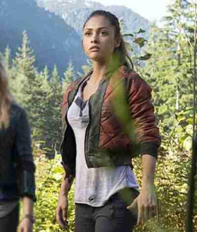 Lindsey Morgan The 100 Raven Rayes Jacket