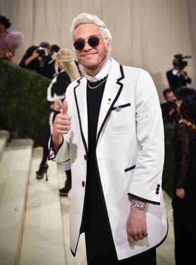 Met Gala 2021 Pete Davidson White Coat