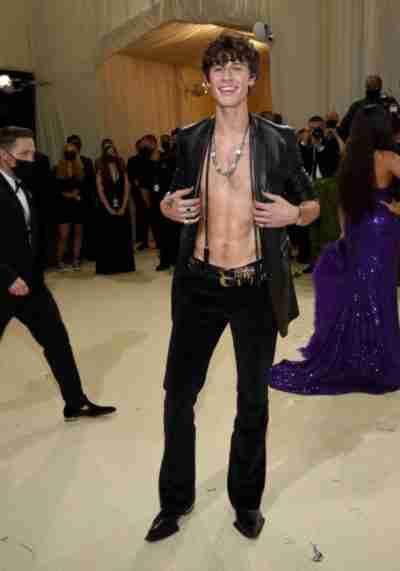 Met Gala Shawn Mendes Jacket