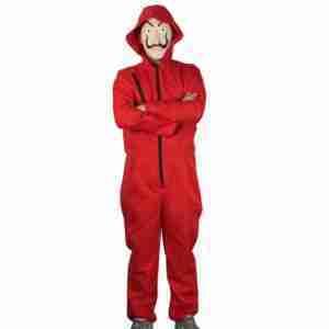 Money Heist Red Costume