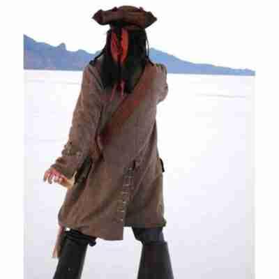 Pirates of The Caribbean Jack Sparrow Coat