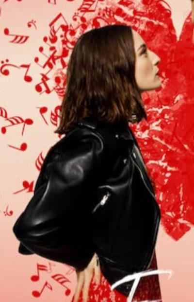 Sounds Like Love Maria Valverde Black Biker Jacket