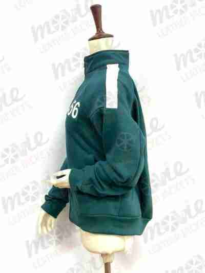 Squid Game Cotton Green Tracksuit