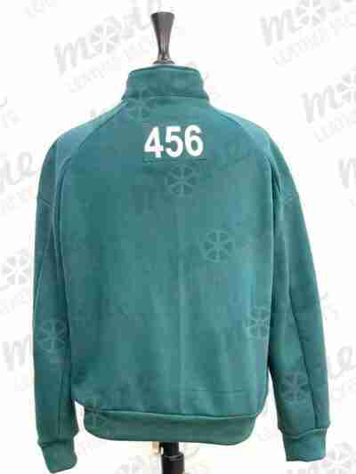 Squid Game Green Cotton Tracksuit