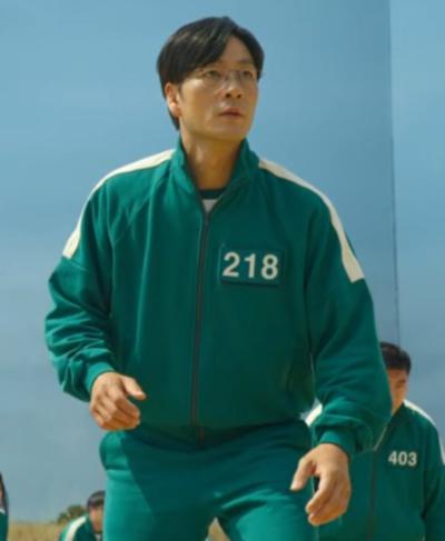 Squid Game Hoyeon Jung Jacket
