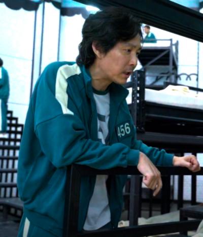 Squid Game Jung-jae Lee Track Jacket