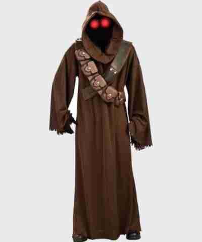 Star War Jawa Brown Long Coat