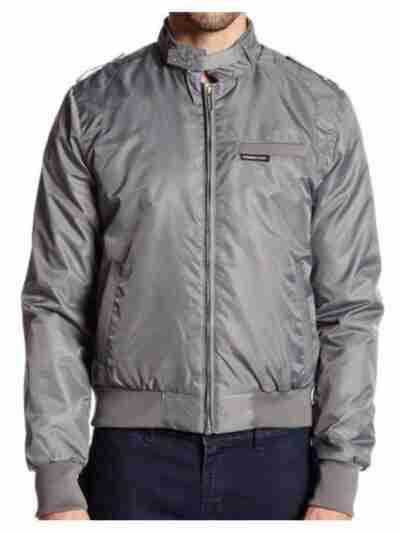 Stranger Things Steve Harrington Grey Jacket