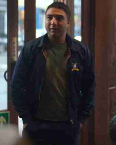 Ted Lasso Nick Mohammed Blue Jacket