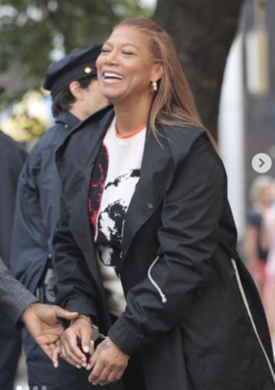 The Equalizer Season 2 Queen Latifah Black Coat