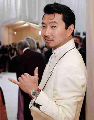 The Met Gala Shang-Chi White Coat