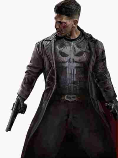 The Punisher Frank Castle Jane Leather Trench Coat