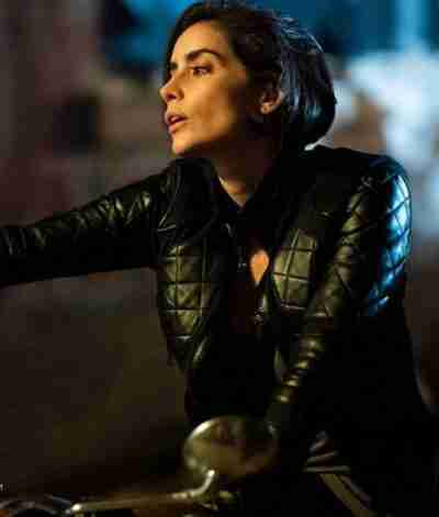 The Purge Esme Carmona Cropped Jacket