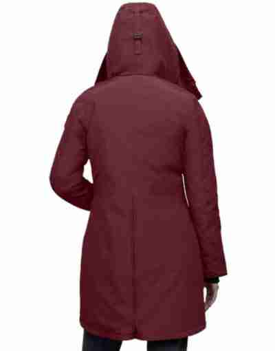 The Republic Of Sarah 2021 Stella Baker Parka Maroon Coat
