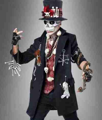 Voodoo Priest Coat