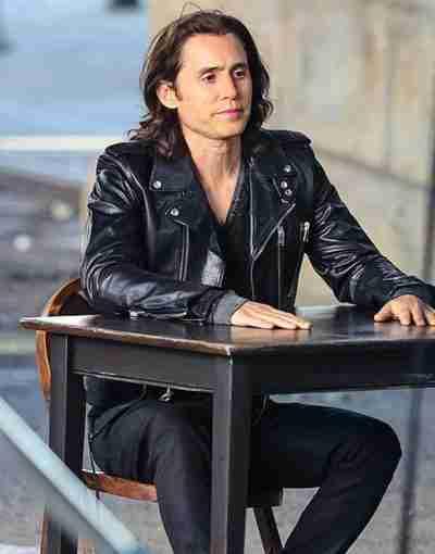 WeCrashed 2022 Jared Leto Leather Jacket