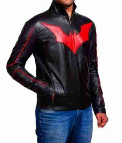 Batman Beyond Terry McGinnis Black Jacket