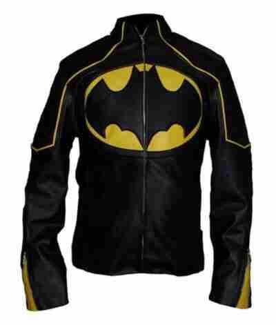 Batman Lego Leather Black Jacket
