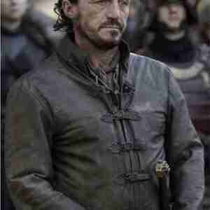 Bronn Game Of Thrones Brown Leather Jacket