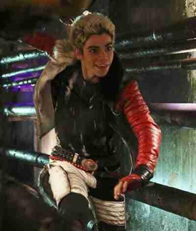 Cameron Boyce Descendants Shearling Leather Jacket