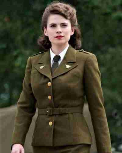 Captain America The First Avenger Peggy Carter Coat
