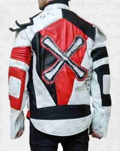 Carlos Descendants3 Leather Jacket