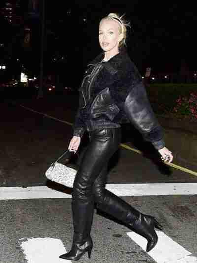 Christine Quinn Black Jacket