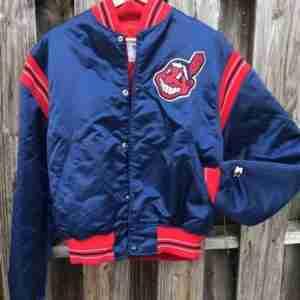 Cleveland Indians Starter Bomber Jacket