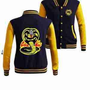 Cobra Kai Karate Kid Moletom Varsity Jacket