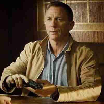 Daniel Craig Spectre Morocco Brown Jacket