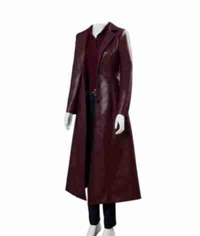 Dark Phoenix Jean Long Coat