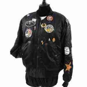 Doctor Who Ace Bomber Black Jacket