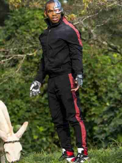 Doom Patrol Cyborg Black Bomber Jacket