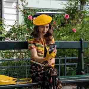 Emily Cooper Emily In Paris Yellow Jacket