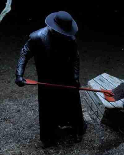 Escape The Undertaker Black Coat