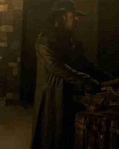 Escape The Undertaker Black Long Coat