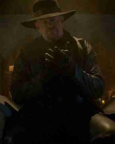 Escape The Undertaker Long Black Coat
