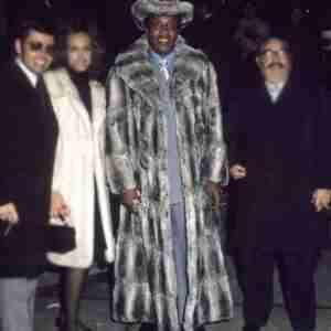 Frank Lucas Fur Trench Coat