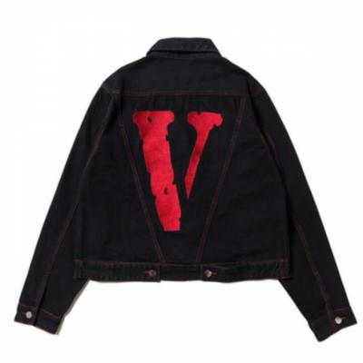 Friends VLONE Denim Red Jacket