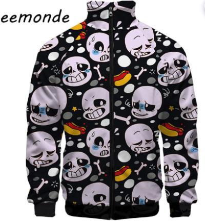 Halloween skull black Jacket