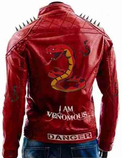 I Am Venomous Last Bite Snake Danger Spikes Jacket