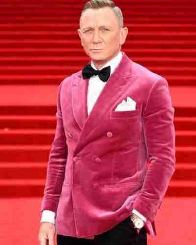 James Bond Premiere Pink Blazer