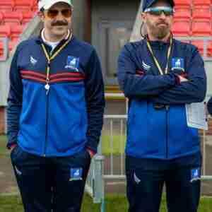 Jason Sudeikis Ted Lasso Coach Tracksuit