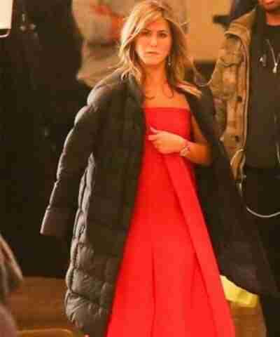 Jennifer Aniston The Morning Show Puffer Coat