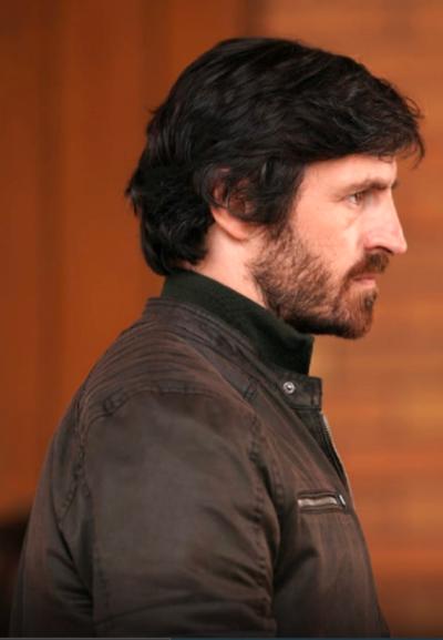 LA BREA Eoin Macken brown jacket