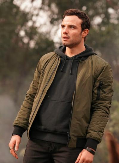 LA BREA Josh McKenzie green jacket
