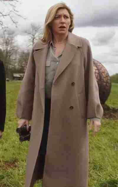 Legends Of Tomorrow Ava Sharpe Oversized Coat