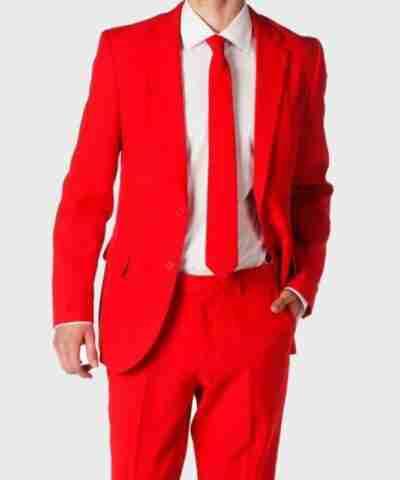 Mens Red Devil Suit